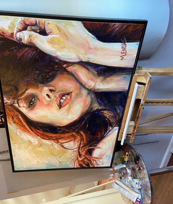 Mark Entius schilderij