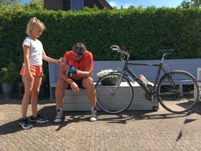 Frank Drost fiets