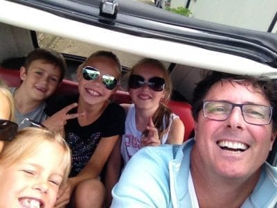 Frank Drost kinderen Fiat