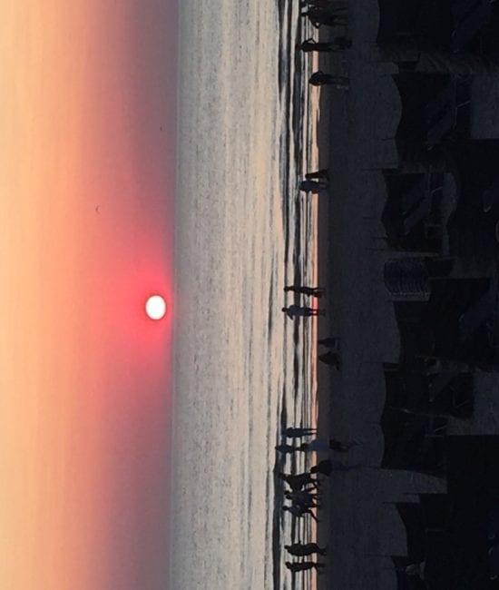 Ron van der Wel zonsondergang