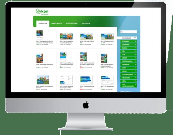 Indrukwekkend case KPN NetwerkNL website