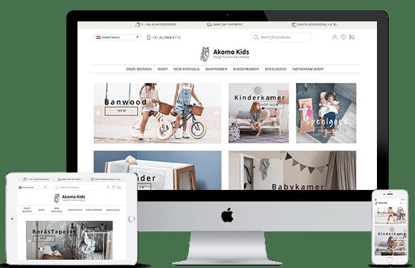 Akomo website