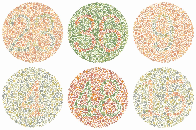 kleurenblind cijfer test