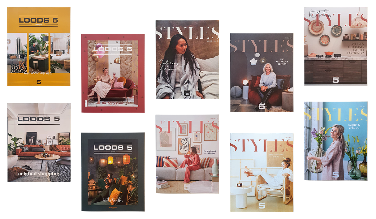loods 5 magazines collage